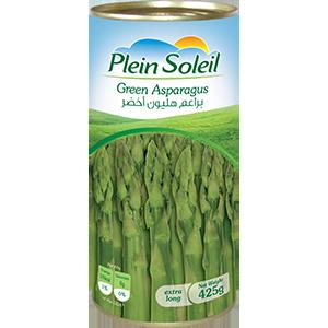 Green Asparagus Can