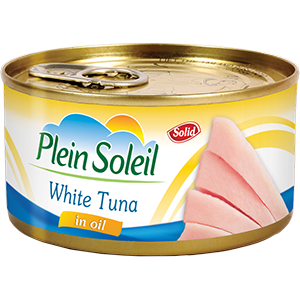 White Tuna Solid in Vegetable Oil