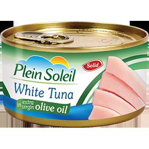 White Tuna Solid in Olive Oil
