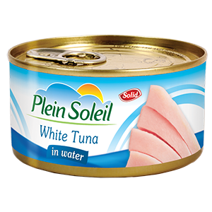 White Tuna Solid in Water