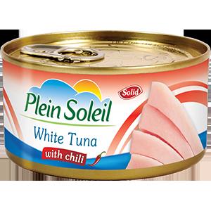 White Tuna Solid with Chili