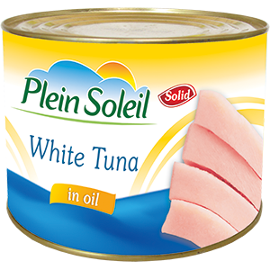 White Tuna in Vegetable Oil